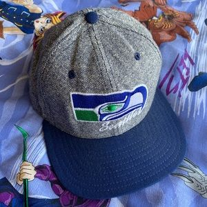 Vintage 90s Seattle Seahawks SnapBack Hat